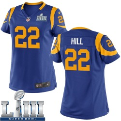 Nike Troy Hill Los Angeles Rams Women's Game Royal Alternate Super Bowl LIII Bound Jersey
